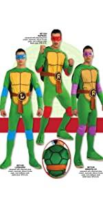 value costume, inexpensive costume, classic TMNT