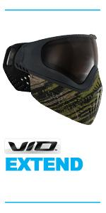 Virtue VIO Extend Thermal Paintball Mask Goggles