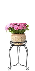 Scroll Braided Plant Stand