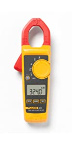 Fluke Clamp Meter with True-RMS reading