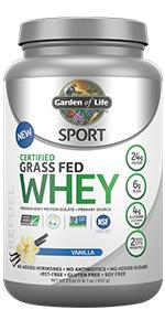 certified grass fed whey