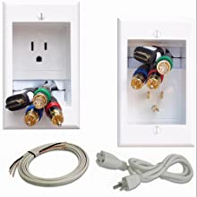 PowerBridge in-wall inwall TV samsung led lcd flat screen hdtv mount electrical kit romex extension