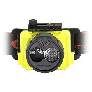 Streamlight Double Clutch USB Head Lamp, Yellow, Close Up