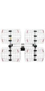 antennas; hdtv; tv; indoor; bowtie; dtv; best; DB8e; outdoor; UHF; VHF; antennas direct;