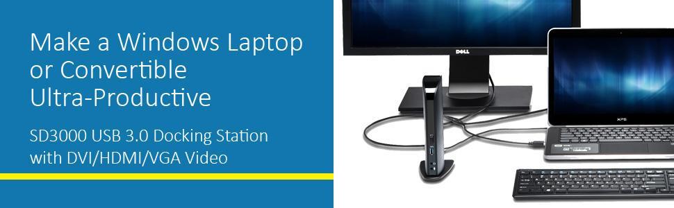 Kensington SD3000 USB 3.0 Docking Station