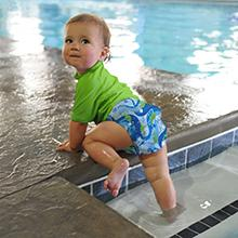 baby, toddler, infant, reusable, swim diaper, swim nappy, swim pants, swimsuit, UV diaper
