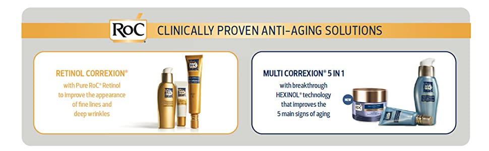 Clinically Proven Anti-Aging Solutions Banner