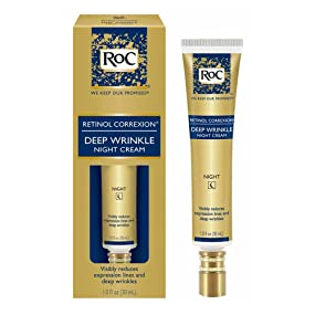 RoC RETINOL CORREXION - Deep Wrinkle Night Cream for Anti-Aging - Hero Image