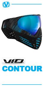 virtue vio contour thermal paintball mask goggles