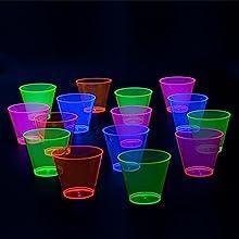 birthday;kids;party;cups;blacklight