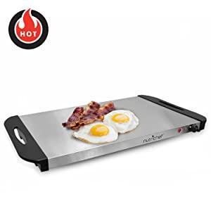 hot plate; breakfast; fry; 2 in 1