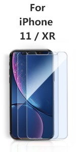 iPhone 11 XR Tempered Glass screen protector