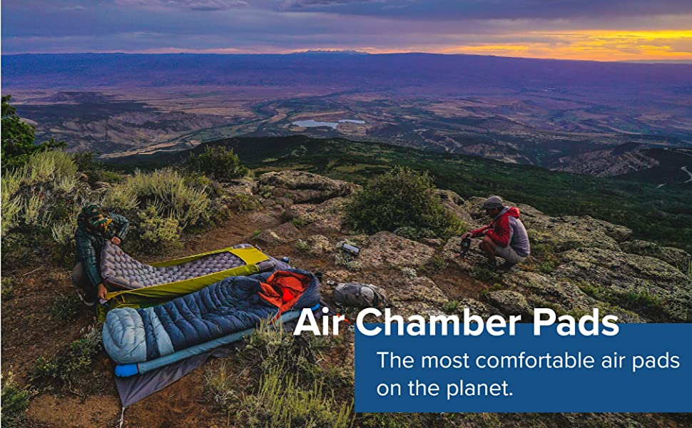 Big Agnes Air chamber Pads- Air core Ultra