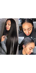 straight wigs human hair