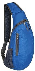 Sling Bag Chest Shoulder Backpack Casual Crossbody Shoulder Triangle Packs Daypacks