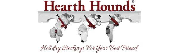 Hearth Hounds Holiday Stockings
