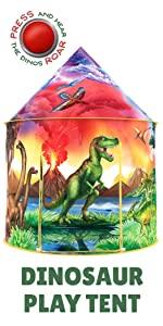 Dinosaur Play Tent