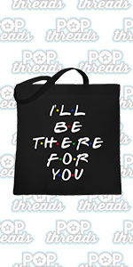 How You Doin Best Friends Funny Retro 90s Cute Large Canvas Tote Bag Women