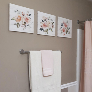 Flower Picture Canvas Wall Art