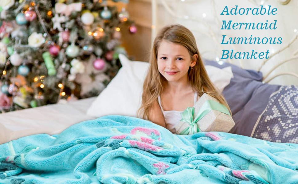 Kids Mermaid blanket