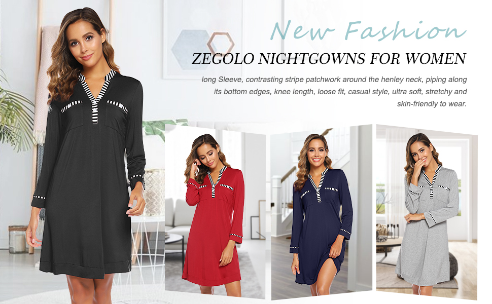 nightgowns for women