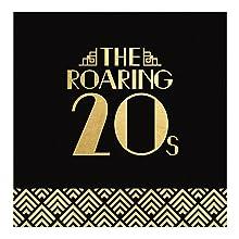Roaring 20's Foil Luncheon Napkin