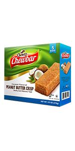 Peanut Butter Crisp Coconut