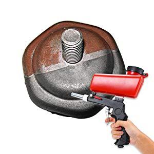 pressurized sand gun