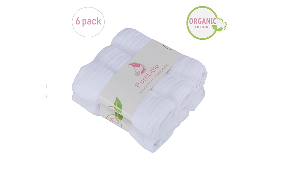 PureLittle Organic Burp Cloth
