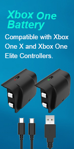 rechargeable battery for xbox one
