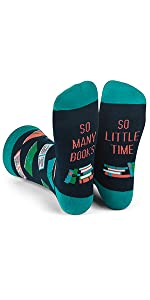 funny, book, nerd, socks, men, women, reading,