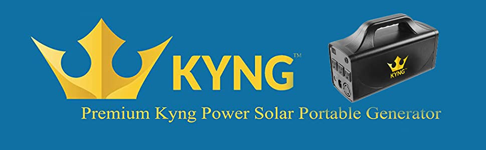 Kyng 500W Power Solar Generator Portable Power Station