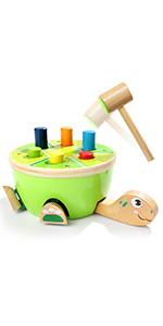 Wooden Pounding Toys