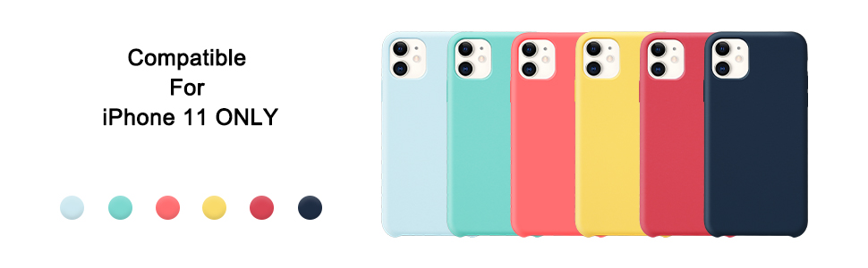 6 colours available
