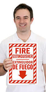 Fire Extinguisher Bilingual