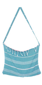 beach bag and towel combo