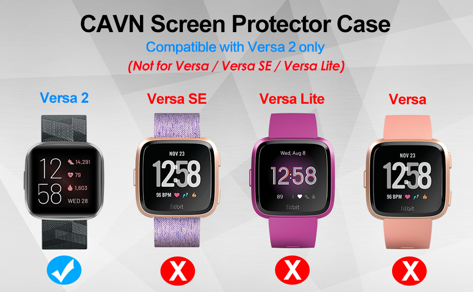 fitbit versa 2 screen protector
