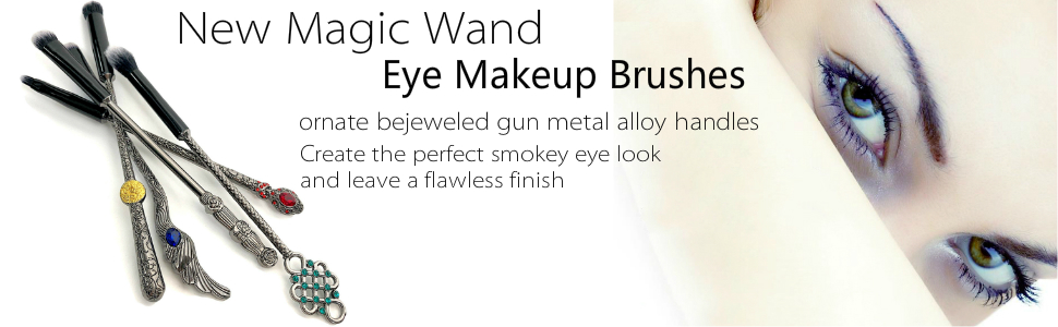 new potter wand eye makeup brushes set
