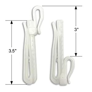 Plastic Pin Hooks