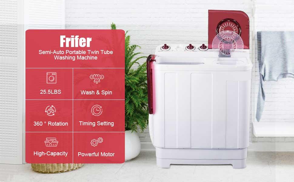 Frifer Portable Twin Tub Washing Frifer Portable Twin Tub Washing MachineMachine