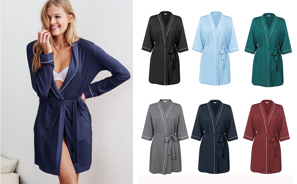 pure color robe