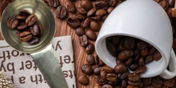 Stainless steel measuring scoops for coffee