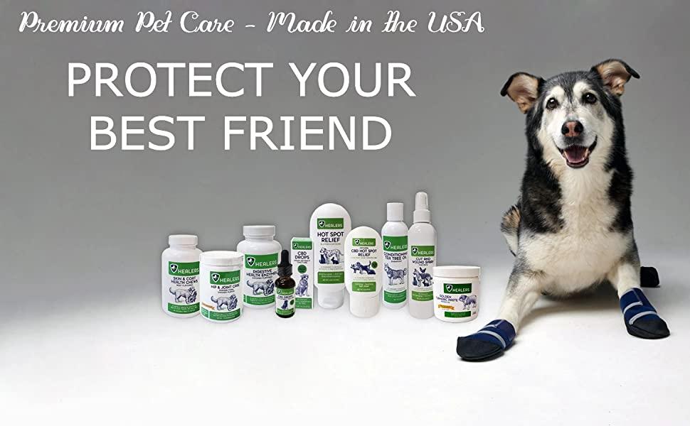 healers petcare, pet care, pet supplements