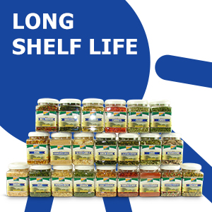 long shelf life, extended shelf life