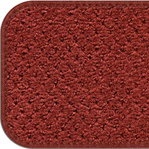 HH&M Gray Stair Tread House Home And More Skid-Resistant Bound Olefin Carpet Rubber