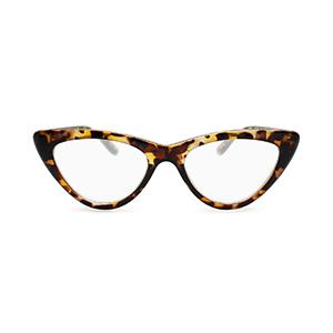 Cat eye reading glasses for women brown tortoise shell