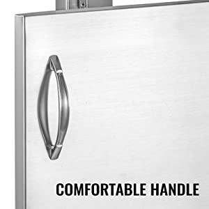stainless steel cabinet doors