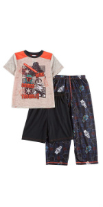 star wars darth vader boys pajamas luke skywalker stormtropper pj pjs sleepwear
