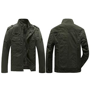 YXP Men's Military Jacket