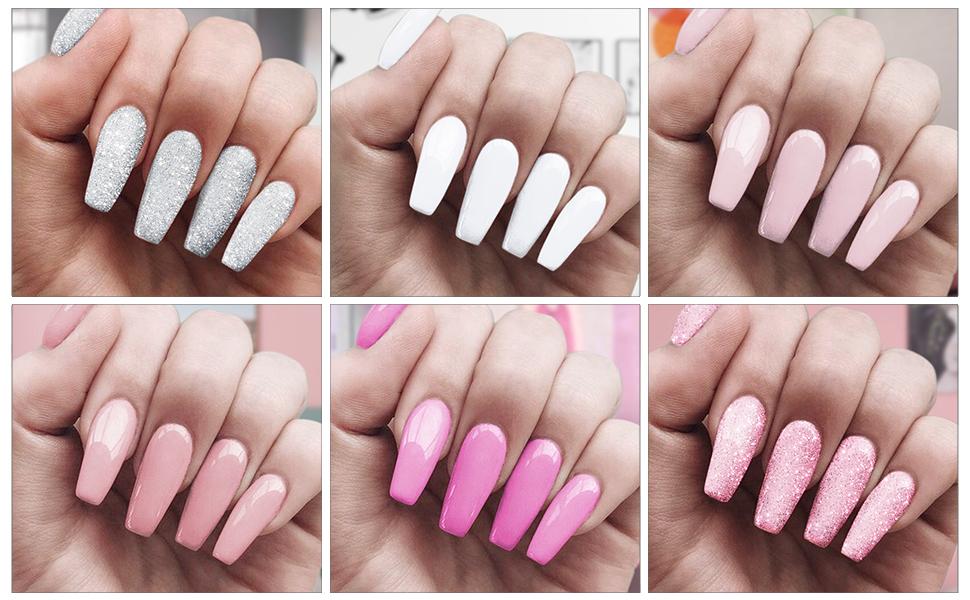 colorsful DIY nail polish